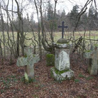 Die Kreuze in Johanniskreuz
