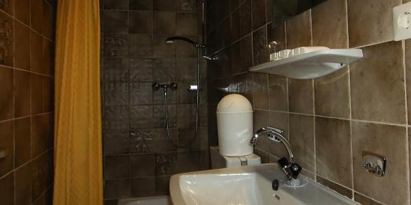 Dusche-WC im Zimmer