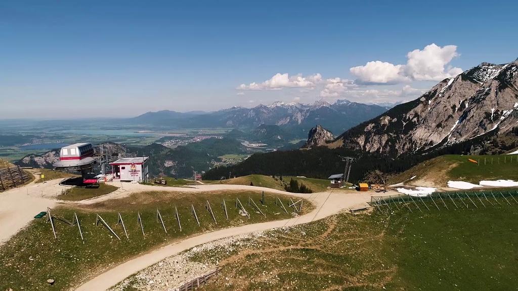 Trainingsfahrt auf der Pfrontener MTB-Marathon Strecke   - © Quelle: Pfronten im Allgäu