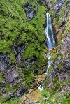 Wasserfall in der Reichenbachklamm - @ Autor: Julian Knacker - © Quelle: Pfronten Tourismus