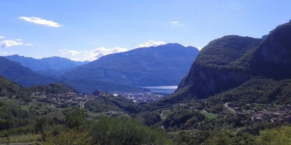 Blick von Ville del Monte aus
