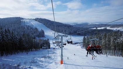 Skiwelt Schöneck Piste Hohe Reuth