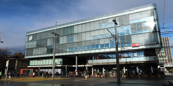 Hauptbahnhof Bern.