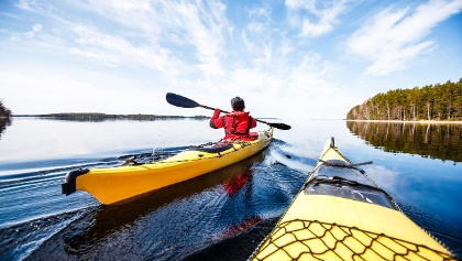 Saimaa kayaking