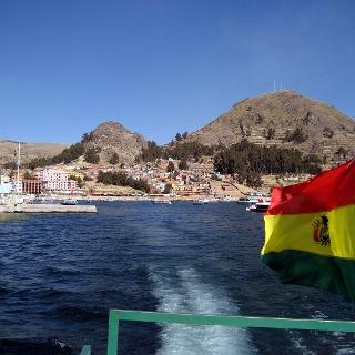 Cerro Calvario 4018m am Titicacasee