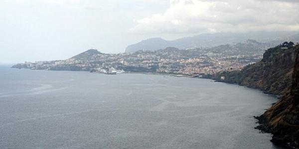 Coastline of Funchal