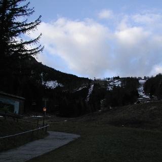Vom Parkplatz Richtung Edelweißhütte
