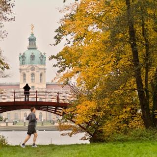 Laufen im Schlosspark Charlottenburg
