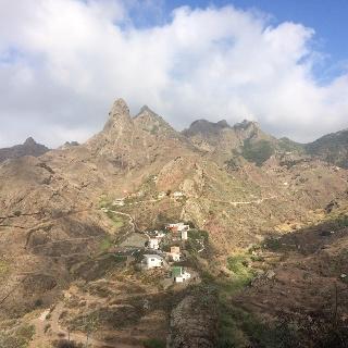 Das Dorf Afur von Lomo Centeno aus
