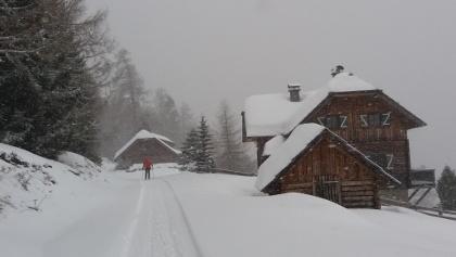 Das 1. Etappenziel ist schnell erreicht: die Heisshütte.
