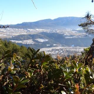 Blick von der Route auf das obere Nonstal