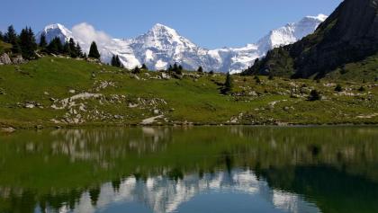 Sulsseewli mit Eiger, Mönch und Jungfrau.