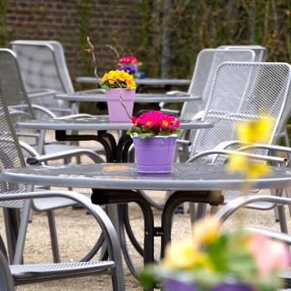 Spendencafé - bei schönem Wetter auch draußen!