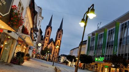 In der Altstadt von Hof