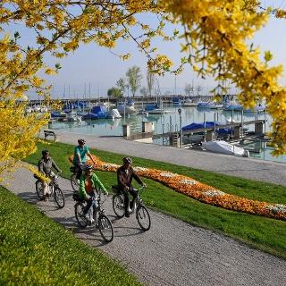 Die Mostindien-Tour verbindet alles, wofür der Thurgau bekannt ist: der Bodensee, Äpfel und kulinarische Genüsse.