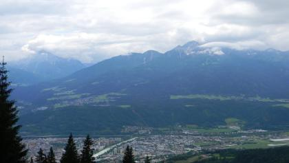 Ausblick über Innsbruck von der Nordkette aus