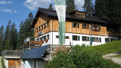 Das Tourenziel Gufferthütte