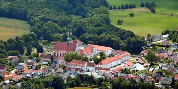 Kloster St. Marienstern - Luftaufnahme