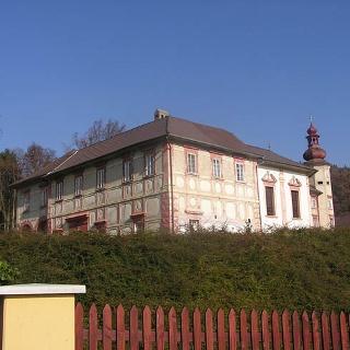 Schloss Meiselberg bei Maria Saal, Südwestansicht