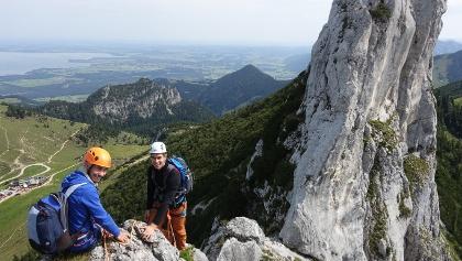 Kampenwand Überschreitung mit Bergführer
