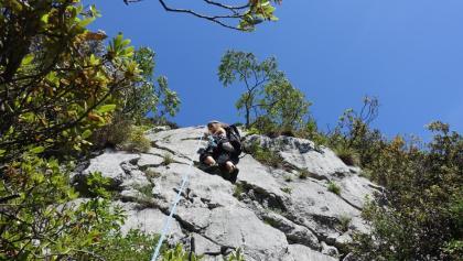 Mehrseillängen Sportklettern – Einstieg in lange Felsrouten