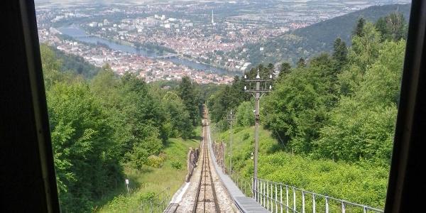 Abfahrt nach Heidelberg