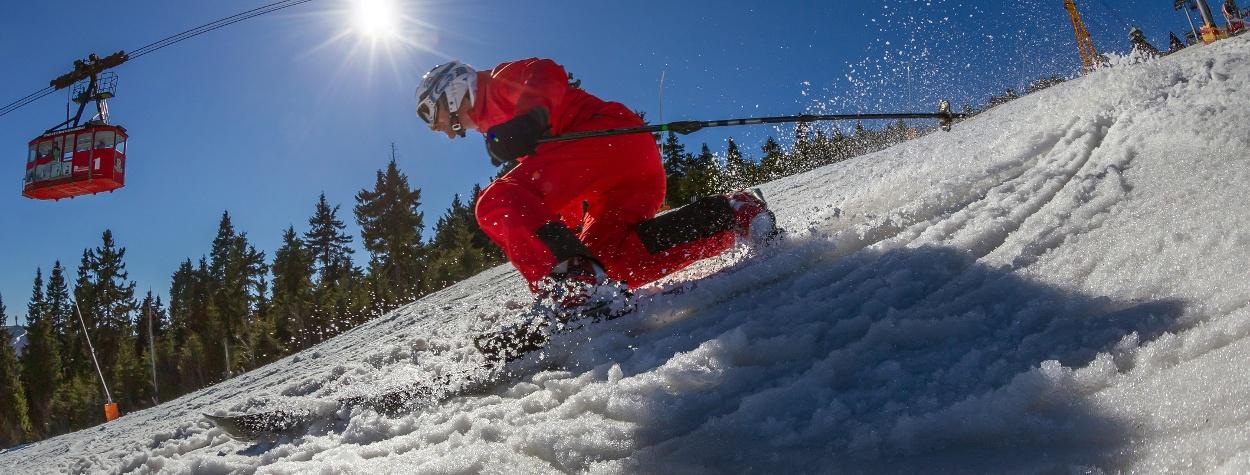 Skispass im Erzgebirge
