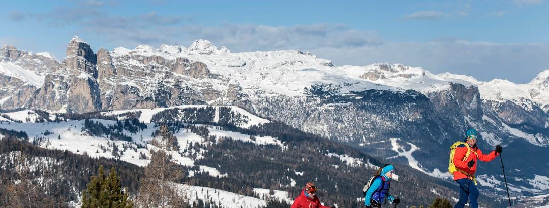 Wintertour in Alta Badia