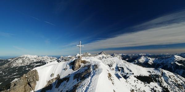 Gipfelkreuz des Litnisschrofen