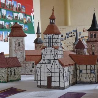Im Dorfkirchenmuseum in Garitz