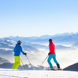 Im Skigebiet Sudelfeld