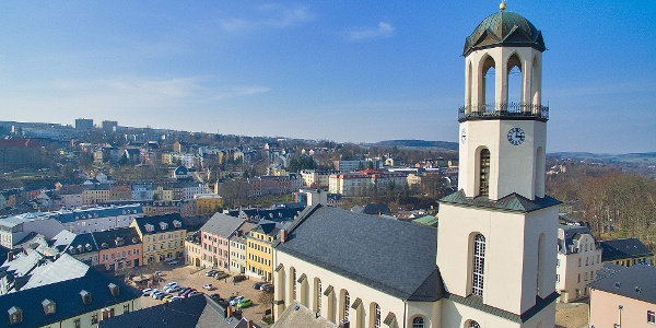 Ev. Kirche St. Laurentius Auerbach/V.