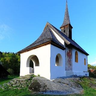 Filialkirche Oberjeserz bei Velden, Hlg. Michael, Nordansicht