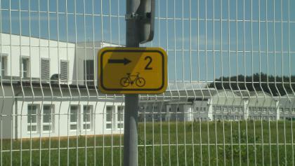 Hier beginnt der Elbe-Radweg offiziell