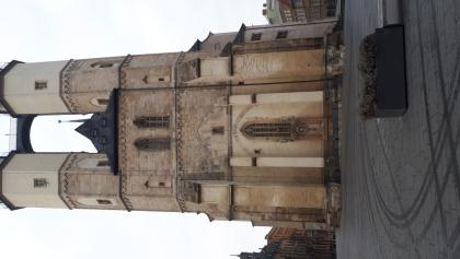 HALLE, 21. Januar 2018 Marktkirche