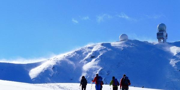 Koralpe Winter - Wanderung durchs Kar