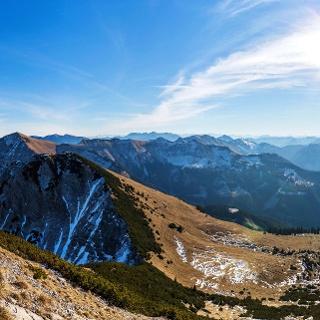 Gipfelpanorama am Demeljoch