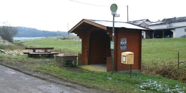 Start Bushaltestelle in Winkel
