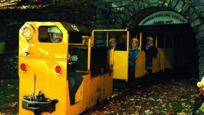 Grubenbahn im Markus Röhling Stolln Frohnau