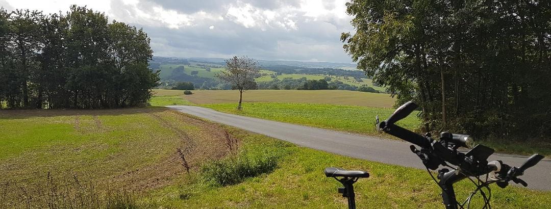 Seitenhain - Blick auf das Osterzgebirge