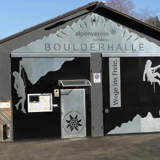 Boulderhalle ÖAV Voitsberg_Außenansicht
