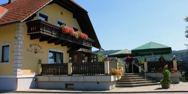 Ausflugsgasthaus Preschan: Außenansicht Seite