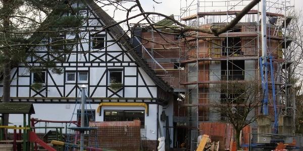 Baustelle PWV Hilschberghaus OG Rodalben