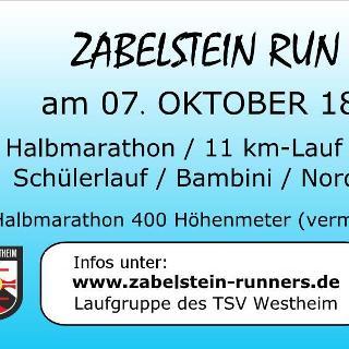 Zabelstein Run, 07.10.2018