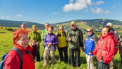 Wanderung in Oberwiesenthal