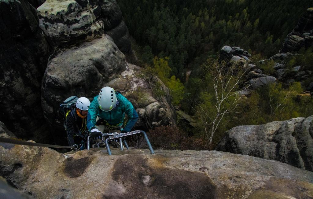 Klettersteig Zittauer Gebirge : Die schönsten klettersteige in sachsen