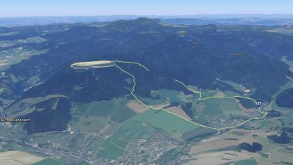 Rundweg von Pöhla zum Oberbecken des Pumpspeicherkraftwerkes Markersbach