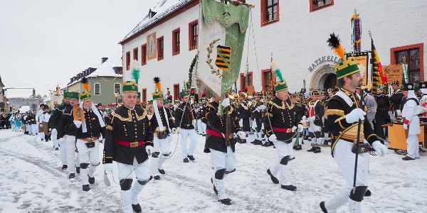 Große Bergparade am 3. Advent