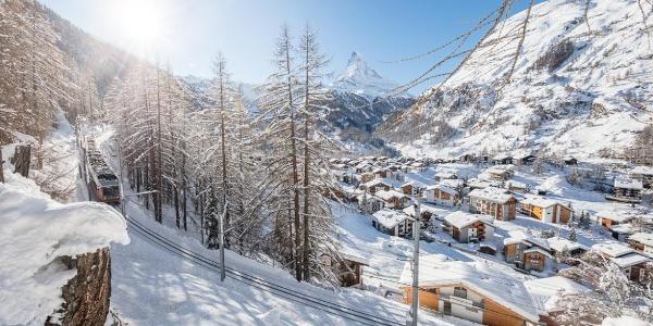 """Merveille hivernale le long du """"unterer Höhenweg"""" (AHV-Weg"""