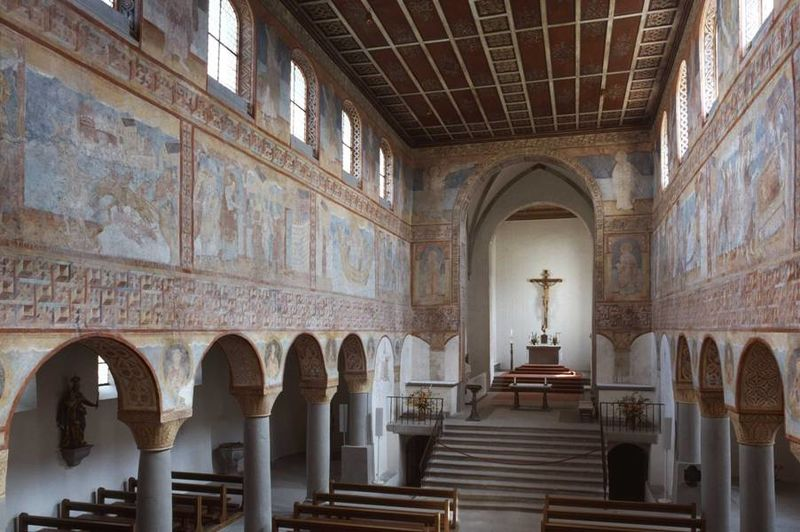 Wandmalereien in der Kirche St. Georg